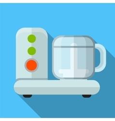 Food processor flat icon vector image vector image
