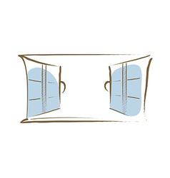 icon window vector image vector image