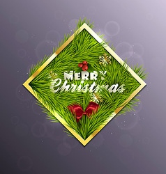 Christmas Background 5 vector image vector image