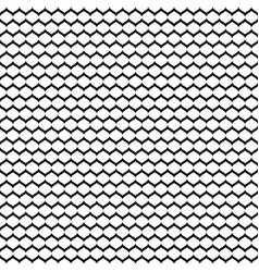 seamless pattern monochrome mesh black white vector image