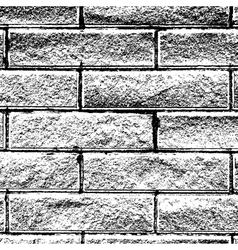 Background Distressed Brick vector image vector image