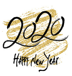 2020 design for new year vector image