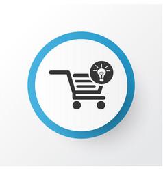 Ecommerce solution icon symbol premium quality vector