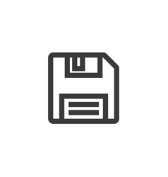 Floppy disk icon symbol vector