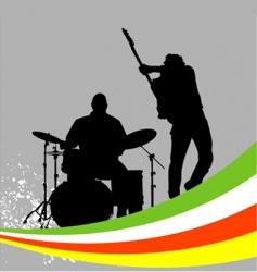 Music concert vector