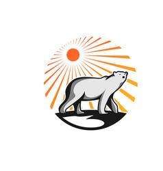 Polar bear downloads eps vector