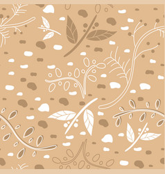 set of two winter patterns vector image