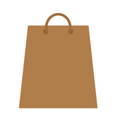 shopping bag isolated icon vector image vector image
