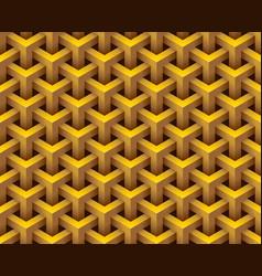 3d hexagonal geometry model texture background vector