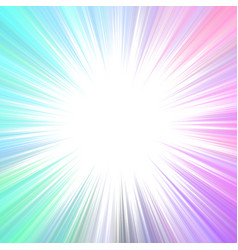 colorful abstract psychedelic ray burst vector image