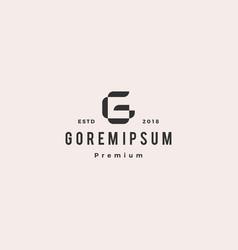 g letter logo icon mark vector image