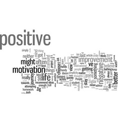 How to stay positive in spite the negativity vector