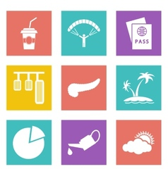 Icons for Web Design set 22 vector