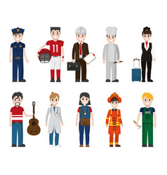 Set of workers vector