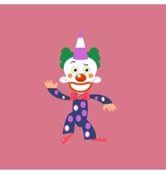 Smiling Clown Greeting vector