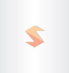 letter s logo icon design vector image