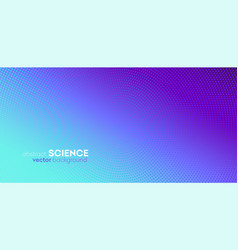 Abstract background halftone gradient vector