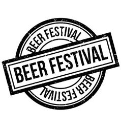 Beer Festival rubber stamp vector