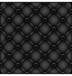 black leather furniture texture vector image