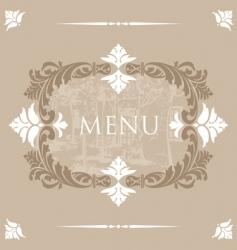 menu32 vector image