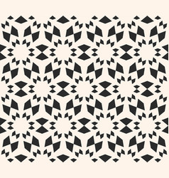 Seamless texture floral tile pattern monochrome vector