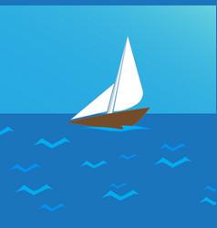 Ship sea vector