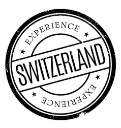 Switzerland stamp rubber grunge vector