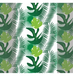 Tropic leaves pattern vector