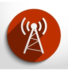 Wireless web icon vector