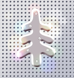 Original new year tech decoration vector image