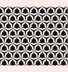 Seamless pattern with angular figures triangular vector