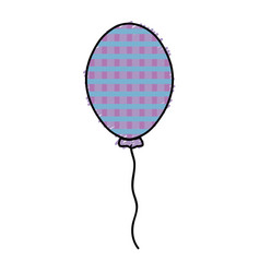 Balloon to decoration and design the party vector