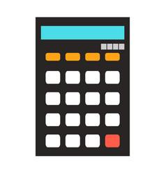 Calculator isolated vector