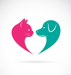 Cat and dog 1 vector