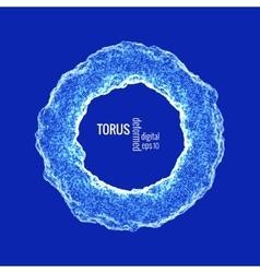 Deformed torus vector