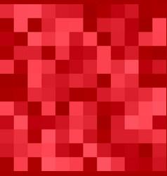 Geometric square pixel mosaic background - design vector