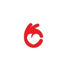 Healthy Heart icon vector image