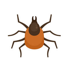 Mite icon flat style vector