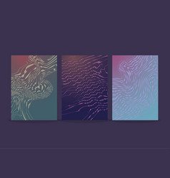 modern futuristic abstract high-tech design vector image