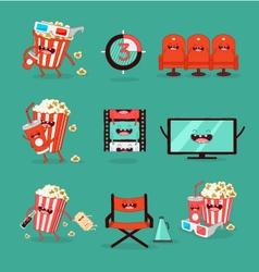 Movie Set vector