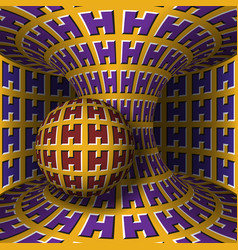 Optical motion sphere is rotation vector