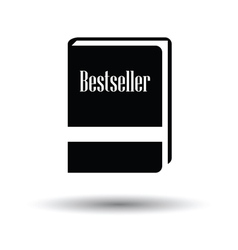 Bestseller book icon vector image vector image