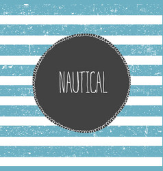 marine background blue lines pattern nautical vector image