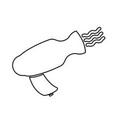 hair dryer symbol vector image vector image