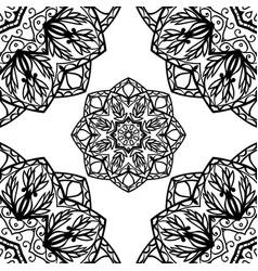 abstract pattern mandalas vector image