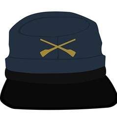 Army headgear cap vector image