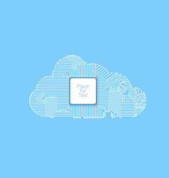 Circuit cloud computing vector