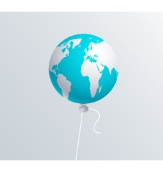 modern earth ballon vector image