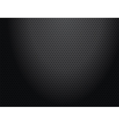 Black perforated metallic background vector image