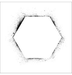 Polygon frame vector